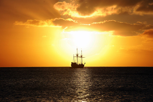 Pirate Ship Sunset | by amangla007