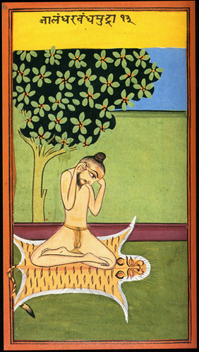 Indian Miniatures Yoga