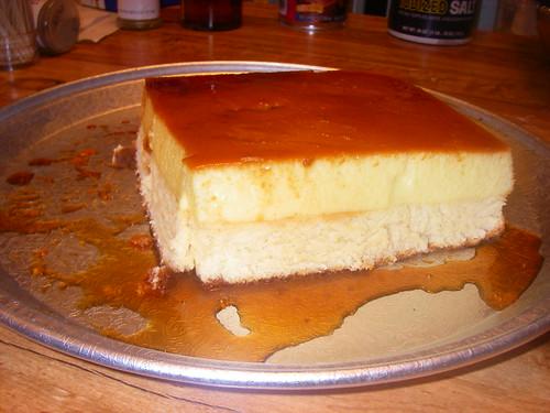 Sponge Cake Flan Pan