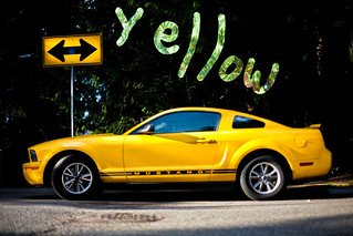 Yellow Mustang | by AMERICANVIRUS