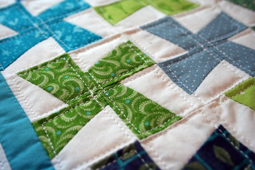 Mini quilt close-up | by turning*turning