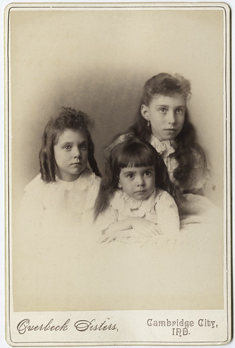 Three Girls, Portrait by Overbeck Sisiters, Cambridge City, IN | by AtypicalArt