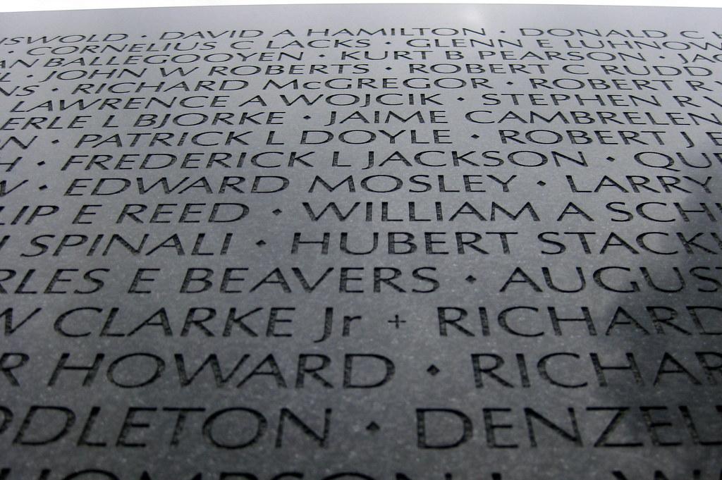Washington DC Vietnam Veterans Memorial Wall The Vietnam Flickr