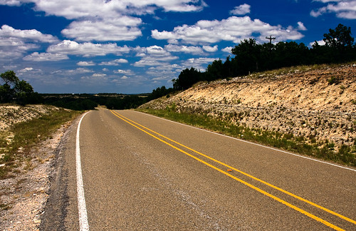 The Road is Long - Johnson City, Texas | by Jeff Lynch