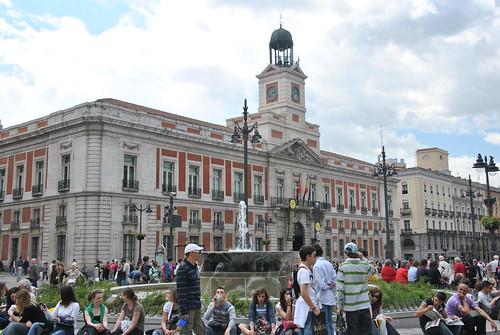 Puerta Del Sol Edificio Sede De La Comunidad De Madrid