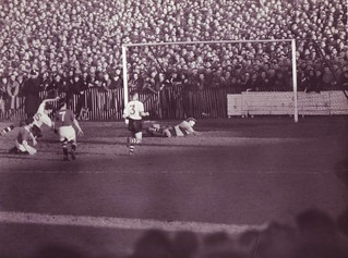 Wrexham v Manchester United FA Cup 4th Round Season 1956-1957. | by Leslie Millman-Manchesterunitedman1