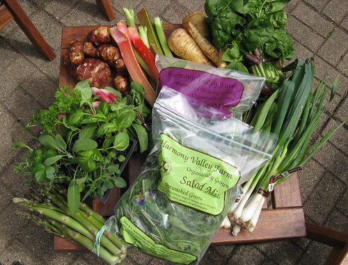What's in CSA box #2 | by katbaro