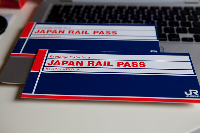 JR Rail Pass!