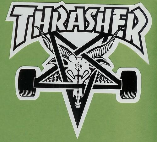 Thrasher Magazine Skateboard Stickers