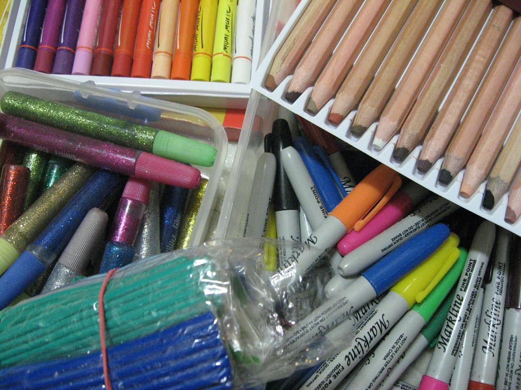 14Feb09 Art Supplies