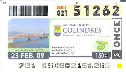 ONCE Colindres Ticket | by erikrasmussen