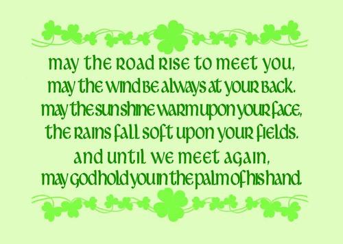 Irish Blessing My Quot Irish Blessing Quot Print It Features