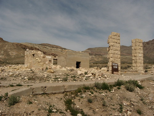 Ghost Town of Rhyolite, Nevada | by Ken Lund