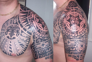 Tribal Shoulder Tattoo | by Classic Ink Tattoo Studio