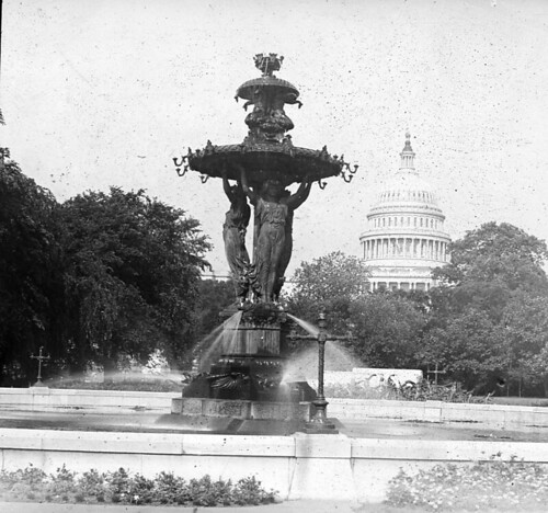 Bartholdi Fountain | by DC Public Library Commons