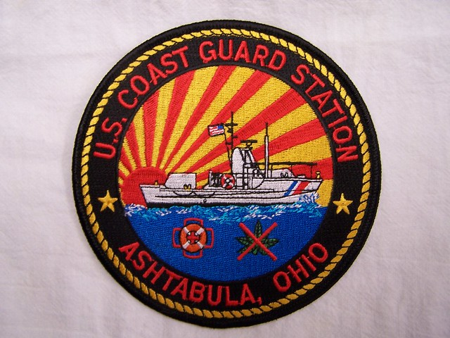 44 Foot Motor Lifeboat Patches