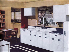 Medium image of 1940s kitchen design by crane   by american vintage home