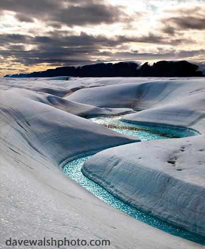 Twist and turn: Petermann Glacier | by Dave Walsh Photography