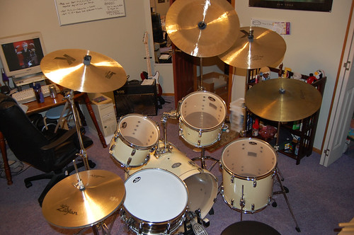 Drum set completed | by heartbrakes