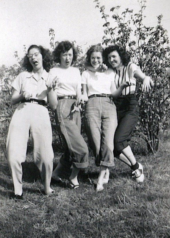 wild women of the 40s my mother in law far right flickr
