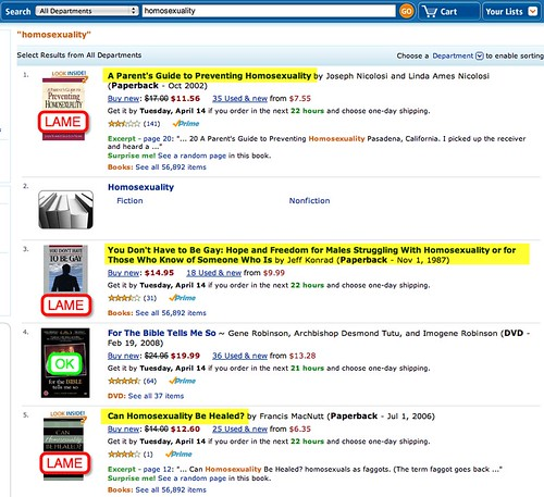 how to find search results for amazon