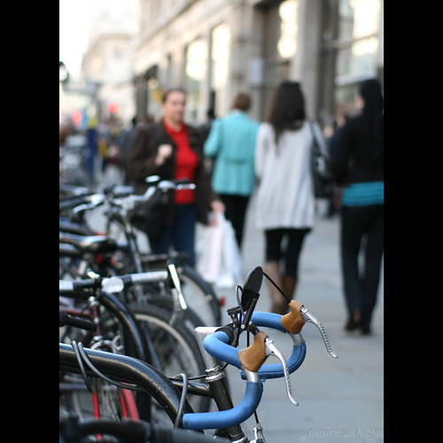 Parked Bicycles. Oxford Circus. London | by _nejire_