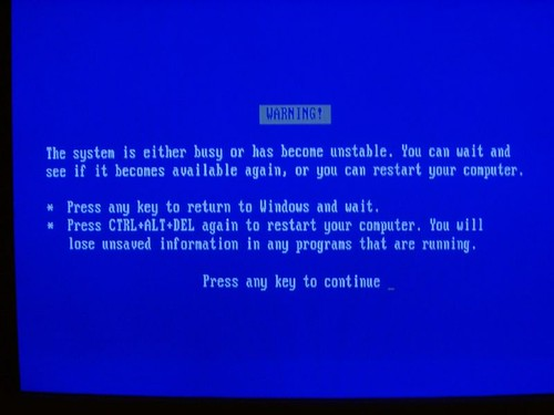 Blue Screen of Death : Windows Seizures | by Whiskeygonebad