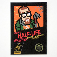 Collectable Card - Half-Life 8-bit Retroactive | by Arcade Art