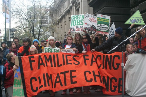 Climate Emergency - Families facing Climate Change | by John Englart (Takver)