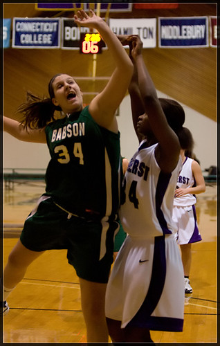 Women's Basketball v. Babson - 3/6/09 | by AmherstCollege