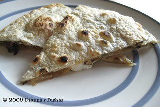 Cheesy Caramelized Onion Quesadillas | by Dianne's Dishes