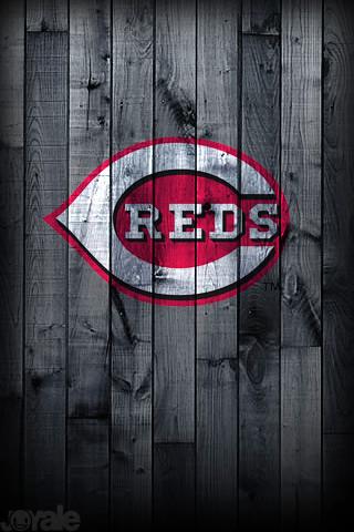 Cincinatti Reds I Phone Wallpaper