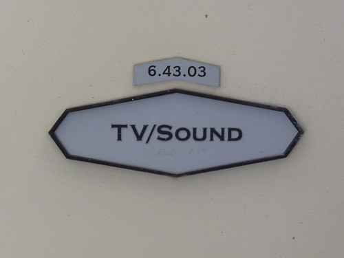 TV/Sound sign | by John Kannenberg