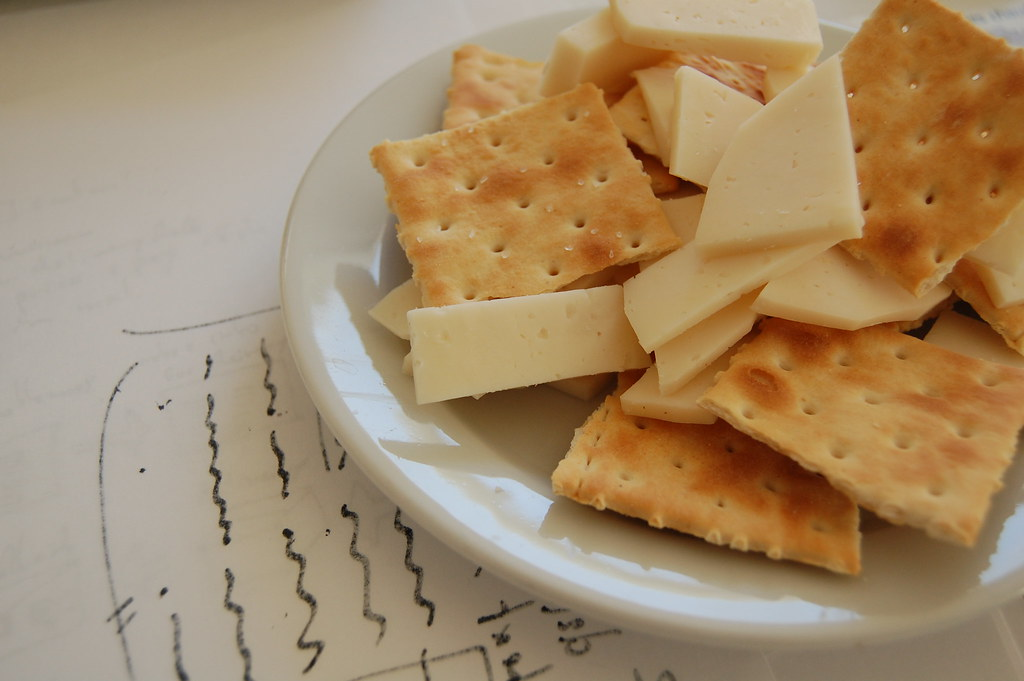 Image result for picture of Snack on cheese and crackers