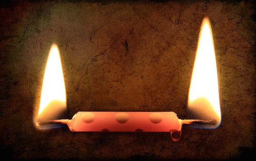 Burning My Candle at Both Ends | by gfpeck