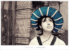 Blue Hat Lady ;) | by Amitesh Chandra