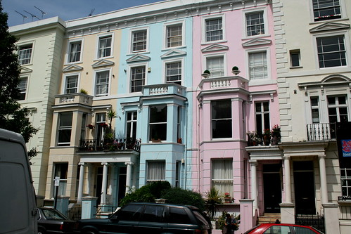 Coloured Terraces Notting Hill | by A u s s i e P o m m