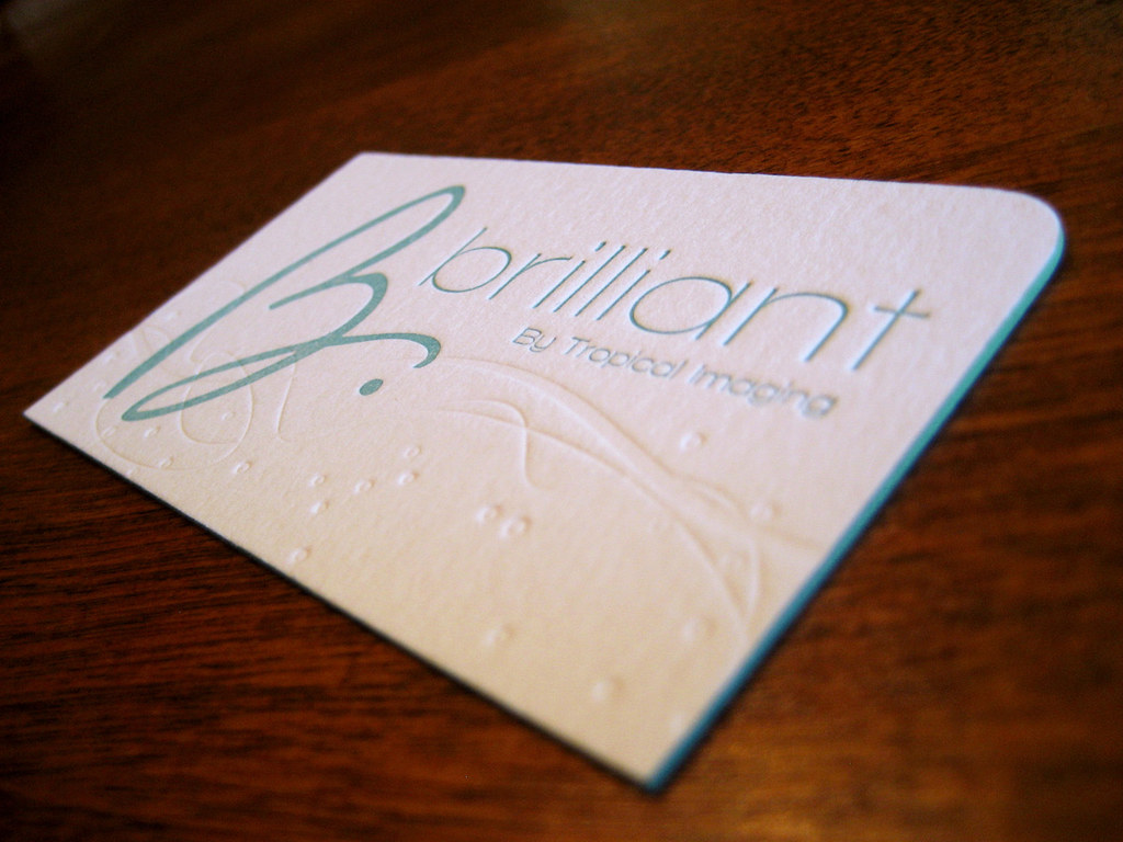 Brilliant Business Card Front | Designed by Identity Kitchen… | Flickr