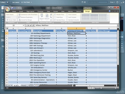 lawson smart office microsoft excel integration by software insider pov