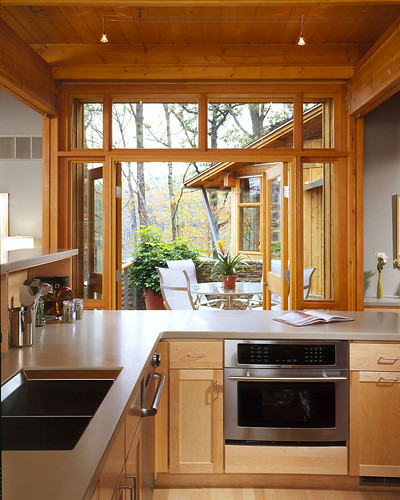 Kitchen Architect Designed Lindal Home In Innsbrook Mo