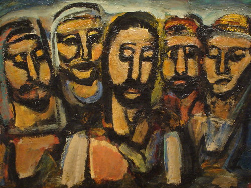 Rouault's Christ And The Apostles | by Ben Sutherland
