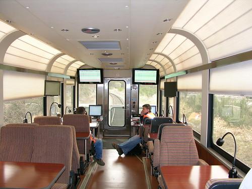 interior of fra track geometry inspection car 220 interior flickr. Black Bedroom Furniture Sets. Home Design Ideas
