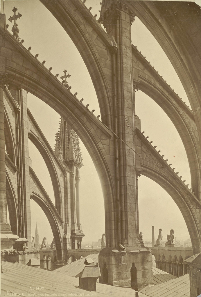 Reims Cathedral Flying Buttresses