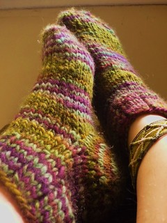 FO: Quick 'n Dirty Socks III | by Soasa Designs