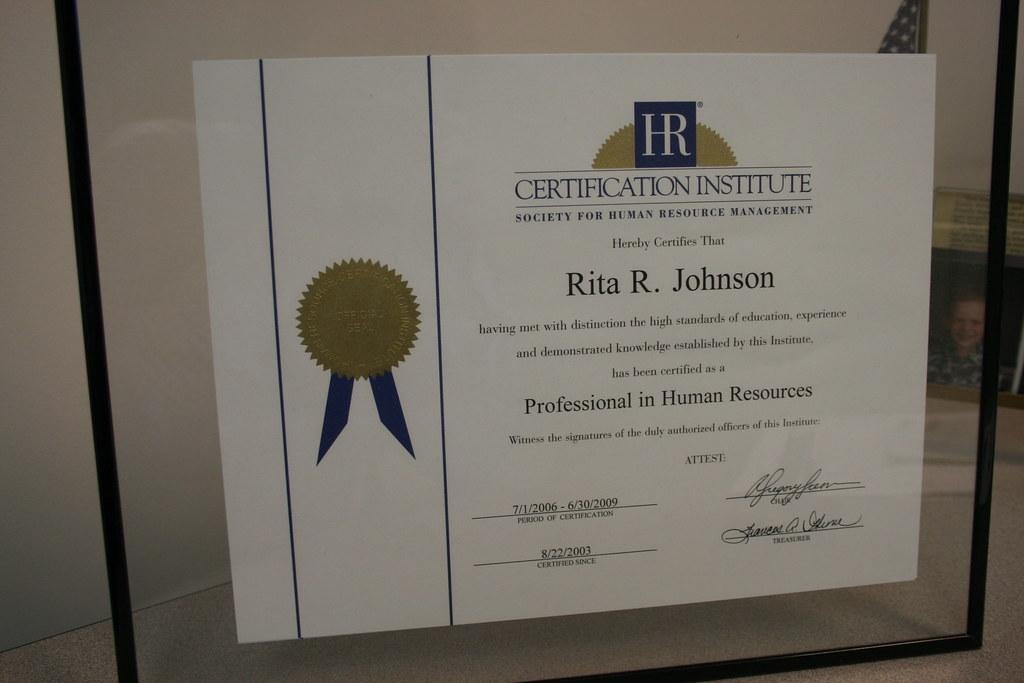 Scavenger 15 My Phr Certificate Rita Flickr