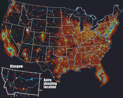 Map Dark Site Finder Eyes In The Sky Exploring Global Light - Map of light pollution us