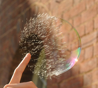 Popping Soap Bubble | by richard.heeks