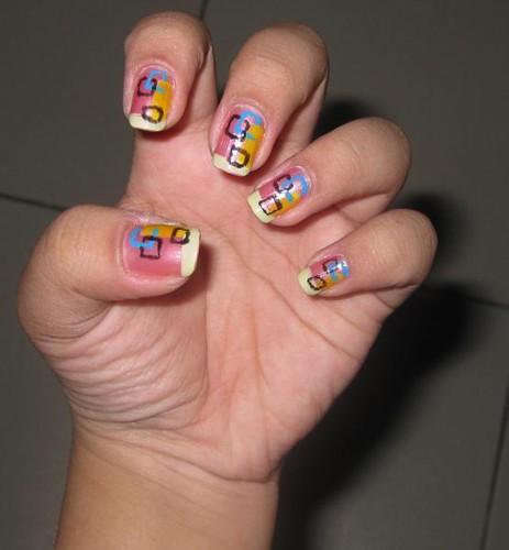 Nail Art Design Abstract Nail Art Maria Katrina Tiong Flickr