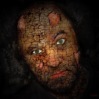 cracked face | by ixos