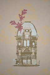 Birdcage wallpaper- Asma Hussain with Graham and Brown-asmahussain.co.uk | by Inhabitat